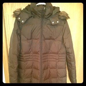 Nine West long puffer coat